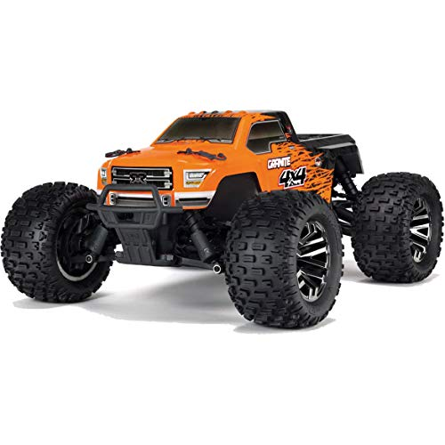 ARRMA 1/10 Granite 3S BLX 4WD Brushless Monster Truck RTR, Orange/Black