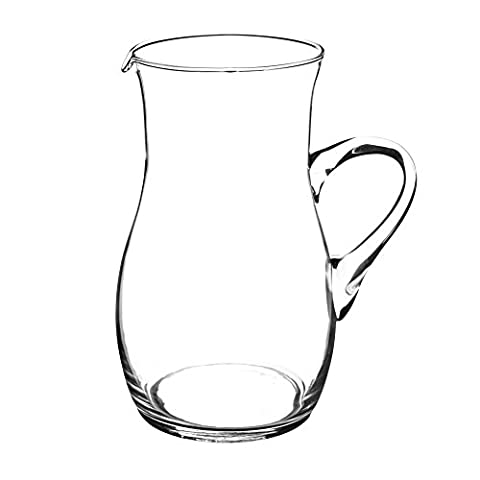 Ravenhead Divertir Carafe en verre fait main Contenance de 2litre, Transparent