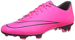 Nike Mercurial Victory V Fg, Men Training Running Shoes, Pink (Pinkblack), 8.5 Uk (43 Eu)