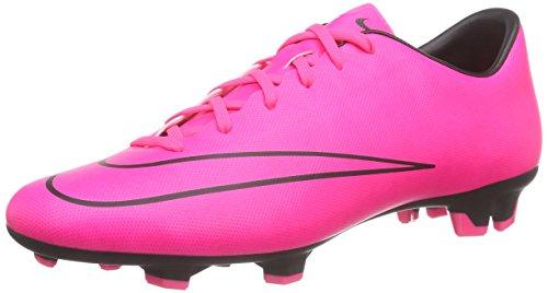 Nike Mercurial Victory V Fg, Chaussures de Football Compétition homme, Pink (Pink/Schwarz), 42 EU
