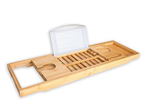 BRUMA  1 Bandeja de baño Premium Bandeja para Bañera de Bambú - Accesorio  para Bañera 055cfcf1a75f