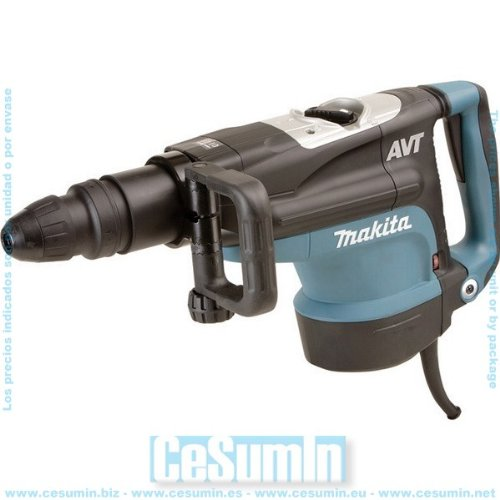 Martillo combinado SDS Max AVT 1500w 12.2 Kg broca