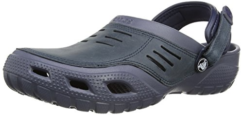 Crocs Yukon Sport, Zoccoli uomo Blu Blue (Storm/Navy) 46-47 (M12)