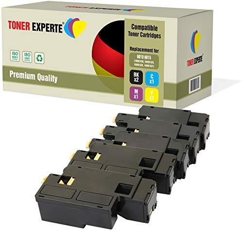 Kit 5 TONER EXPERTE 106R01630 106R01627 106R01628 106R01629 Toner compatibili per Xerox Phaser 6000, 6010, 6010V, 6010V N, 6010N, WorkCentre 6015, 6015V, 6015V B, 6015V N, 6015V NI, 6015MFP