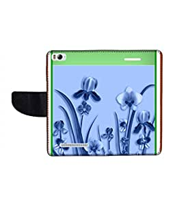 KolorEdge Printed Flip Cover For Xiaomi Mi 4I Multicolor - (1478-50KeMLogo12192XiaomiMI4I)