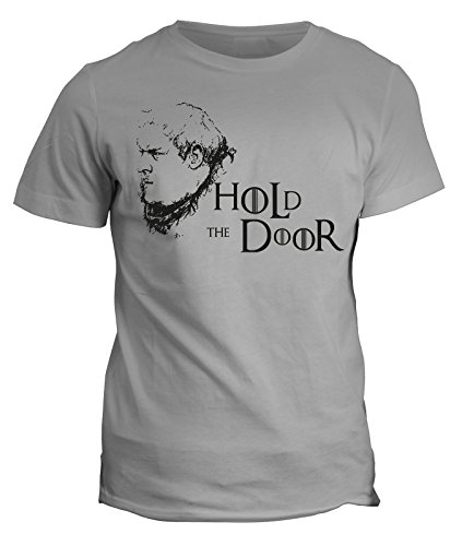 Tshirt Games of thrones Hold the door- Hodor-Serie tv - in cotone by Fashwork