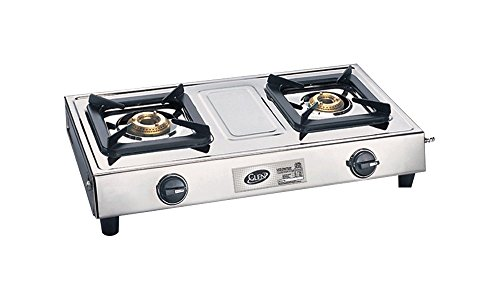 Glen Glass 2 Burner Cooktop, Silver (CT1023SS)  available at amazon for Rs.2546