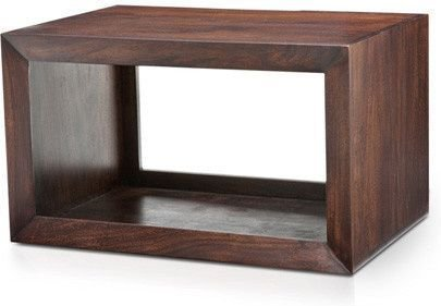Urban Ladder Euler's Solid Wood End Table (Mahogany)