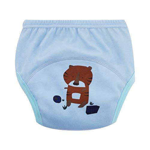 Isuper Nettes Baby-Windeln Mehrwegwindeln Stoffwindel Waschbare Kleinkinder Kinder Baby Cotton Training Pants Baby gewickelte Höschen (Geeignet für Babys von 17 bis 22 kg) 1pc Tiger-Muster