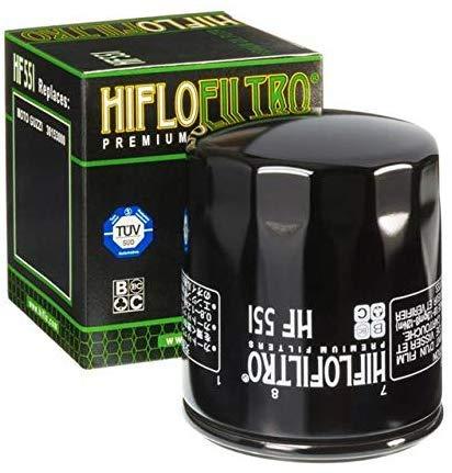 Hiflo Moto Guzzi 850 Norge 06 07 08 09 10 11 Performance Filtro Olio Qualità Originale OE HF551
