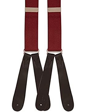 Mens Runner End Braces (Wine)