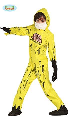 �m für Kinder Gr. 98-146, Größe:140/146 (Halloween Kostüm Zombie Da)