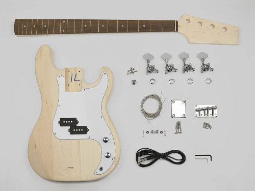 Precision bass built your own hardware P-bass guitar builder kit new KIT-PB-10