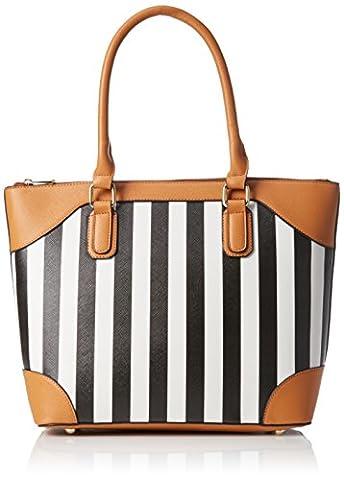 Sansibar Stripes sac à main 38 cm Black
