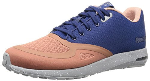 Reebok Classics Men's Clshx Runner Dark Blue, Silver, White and Blue Running Shoes – 7 UK 41omX 2B5GOQL
