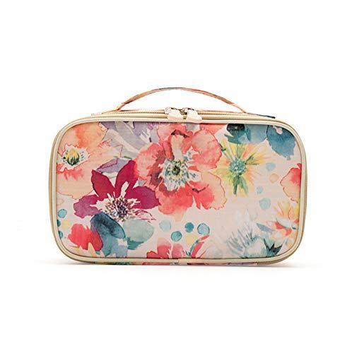 ZFMLXFMM Damen Kosmetiktasche,Tragbare Kosmetiktasche, Waschbeutel mit großer Kapazität,...