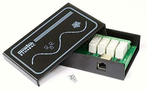 Devantech - Robustes Gehäuse/Case für ETH484-4 x 16A ethernet Relay inklusive Schrauben und Befestigungslöcher -