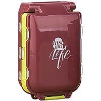 Preisvergleich für Tragbar Reise Pille Box Case Organizer, Weekly 7Tage Kunststoff Medizin Vitamin Halter Container 8fach