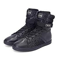 أحذية رياضية للرجال من SEVE عالية رفع الأثقال، أحذية للتمرين المتشددين التكتيكيين المتشددين في نهاية الساق, (Rf Black), 42.5 EU