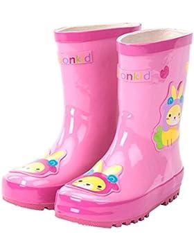 [Sponsorizzato]Paragon Bambina Bambino Stivali Pioggia Ragazza Stivaletti Scarpe Invernali Impermeabile