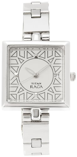 Titan Raga Analog Silver Dial Women's Watch -NK2509SM01