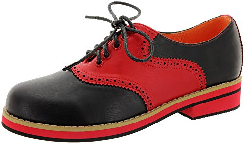 Dancing Days by Banned Schnürer OLD SOUL DANCER BND232 Black-Red