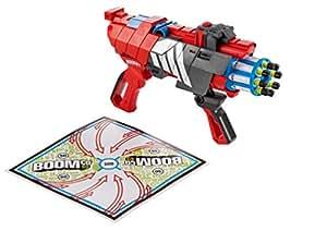 Boomco - Bgy62 - Jeu De Tir - Pistolet À Fléchettes - Boomco Twisted Spinner Blaster
