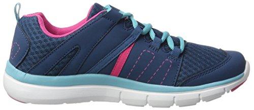 Bruetting Unisex-Erwachsene Crater Sneaker Blau (marine/pink/tuerkis)