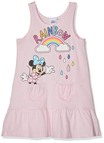 Disney Minnie Mädchen 5713 Kleid, Hellrosa, 110