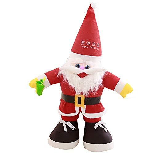 Omiky Santa Claus Doll Christmas Plush Dolls Home Ornament Decoration Toys Santa Claus Doll, Stofftier Stofftier für Kleinkind / Babys / Home Decor Geeignet für Frauen und Kinder