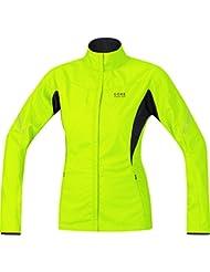 GORE RUNNING WEAR Damen Leichte Active Shell Laufjacke, GORE WINDSTOPPER, ESSENTIAL LADY WS AS Partial Jacket, JWESNW