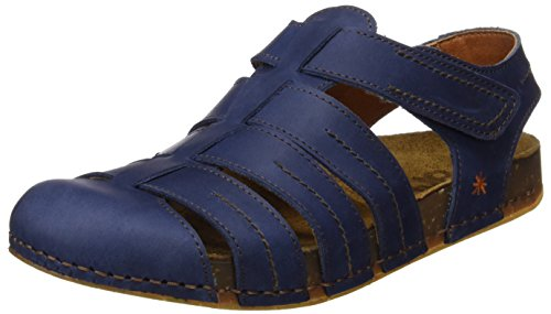 ART 0869 Olio We Walk, Closed-Toe Mixte Adulte Bleu (Blue)
