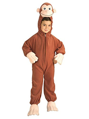 Curious george costume, monkey, small by rubie's costume co
