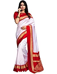 Applecreation Women's Bhagalpuri Silk Saree (printed Sarees_7PJ5012_FreeSize)