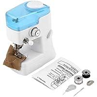 Máquina multifunción profesional mini máquina de coser FHSM-988 de luz LED de coser overlock