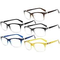 Eyekepper Lot de 5 lunettes loupe lunettes de vue Fashion lunettes de  lecture pour homme cf58634c21d9