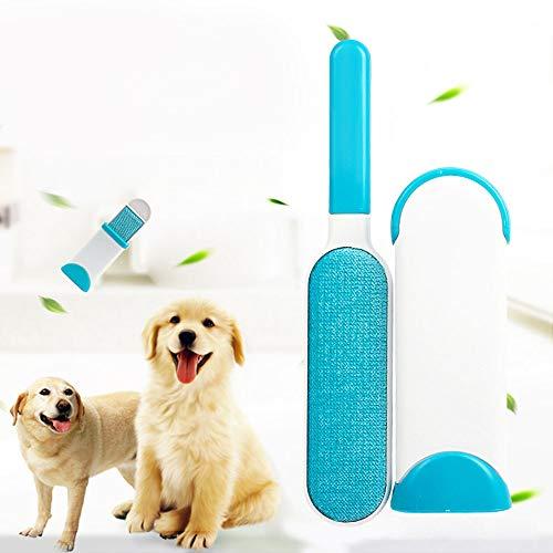 Moonvvin - Cepillo para Eliminar el Pelo de Mascotas, Cepillo de Pelo de Perro, Gato, Base de Doble Cara, Muebles, sofás, Ropa, Cepillo de Limpieza