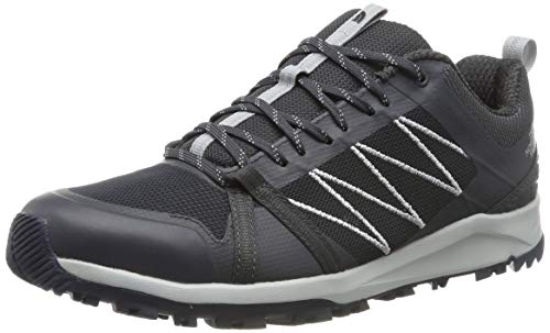 THE NORTH FACE M Litewave Fastpack II, Zapatillas de Senderismo para Hombre, Naranja (Ebony High Rise Grey C41), 41 EU