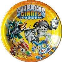 Skylanders fête Assiettes 17,8cm Petite
