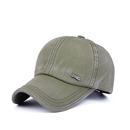 Vollter Moda Gorras de Béisbol de Hombres al Aire Libre Sombrero de Algodón Sombrero de Sol para la Primavera y el Otoño