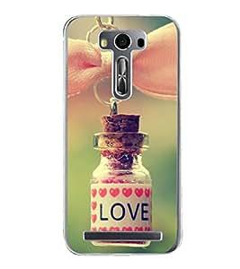 Love Dose 2D Hard Polycarbonate Designer Back Case Cover for Asus Zenfone Selfie ZD551KL