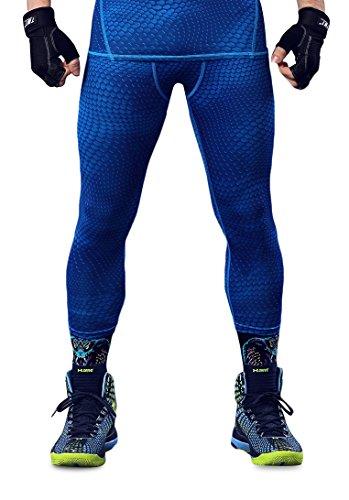 HonourSport Herren Kompressionshose Leggings Cool Base Layer Tights Joggingpants -