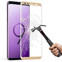 Mture Samsung Galaxy S9 Schutzfolie, Galaxy S9 Gehärtetem Glas Displayschutz 9H Härte mit 3D Touch Kompatibel, Anti-Kratzen Schutzglas Displayschutzfolie für Samsung Galaxy S9 - Gold