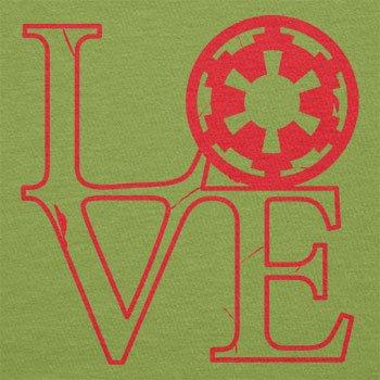 Texlab–Empire Love–sacchetto di stoffa Verde chiaro