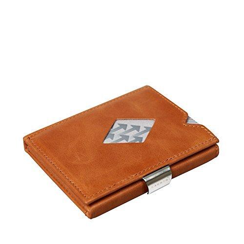 Exentri Wallet EXD315 Cognac Kreditkartenetui RFID gesichert