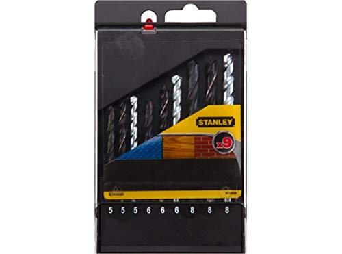 Stanley STA56005-AZ Bohrer (Mauerwerk, Metall, Holz 5/6/8, 5/6/8, 5/6/8)