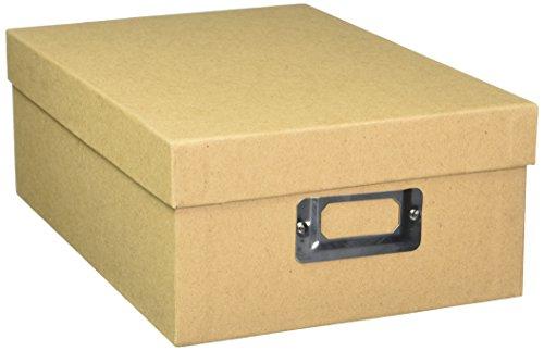 Darice Aufbewahrung Foto Box 7,5x 4x 11Globe W/G/B Wht/Gry/Blk - Darice-box
