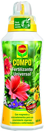 Compo 1433312011 Fertilizante Líquido Universal 500 ml, 23x7x6.3 cm
