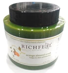 Richfeel Orange Almond Scrub 500 g