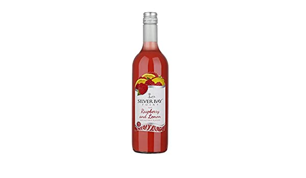 Silver Bay Point Raspberry and Lemon Flavour Wine, 75 cl (Case of 6